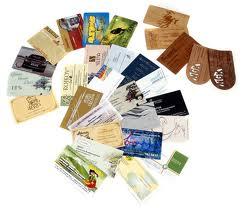 Дизайн и печать визиток - нужная услуга