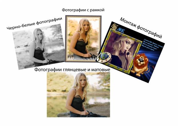 печать фотографий интернет: