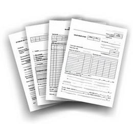 Печать бланков документов на заказ