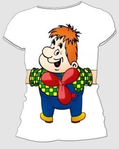 Печать рисунка на футболку – хороший подарок или рекламный ход
