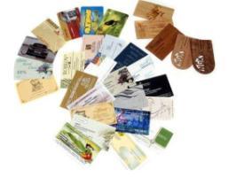 Профессиональные визитки: оригинальные материалы для изготовления визиток