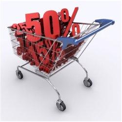 Система скидок, купон позволяют привлечь больше покупателей